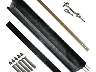 Pool Fence DIY by life Saver Fencing Section Kit  4 x 12 Feet  Black  Renewed