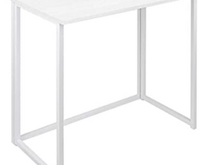 Folding Computer Desk For Small Spaces   Not Inspected