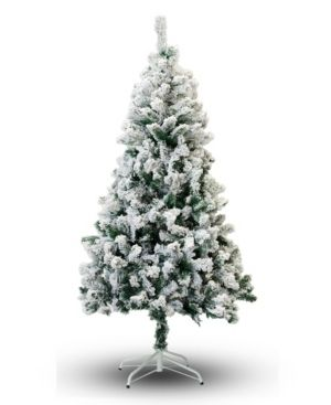 Perfect Holiday 5  Snow Flocked Artificial Christmas Tree