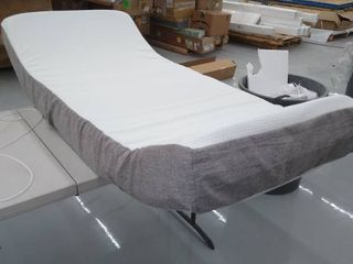 Used Twin Size Mattress   Grey an White
