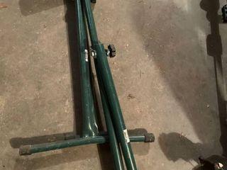 Green Metal Roller