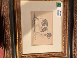 Framed Dog Prints