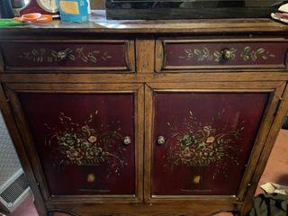 Floral Dresser