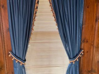 Blue Curtains 82 in