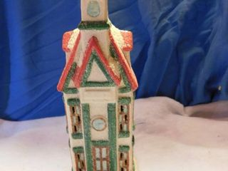 Ceramic Church Christmas Decor