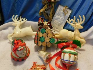 large lot Of Ornaments