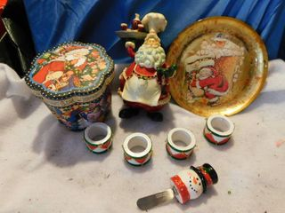 Miscellaneous Kitchen Christmas lot