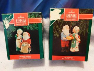 Two Hallmark Keepsake Ornaments