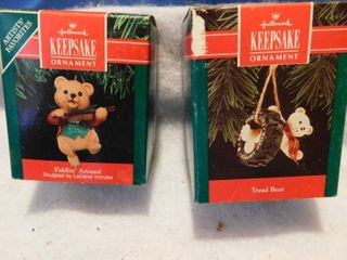 Hallmark Keepsake Ornaments  2 ea    NEW