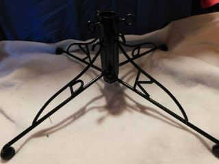 Black Elegant Christmas Tree Stand