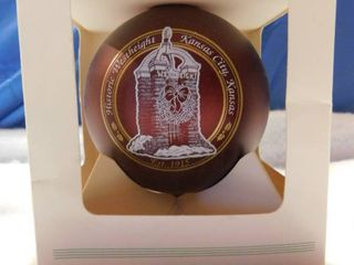 Howe House West   Kansas City  KS Collectible Ornament