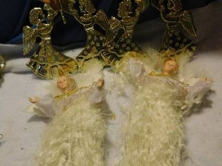 4 Angel Ornaments