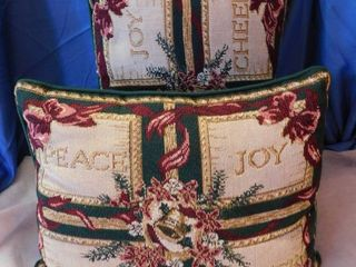 Pair of Christmas Pillows