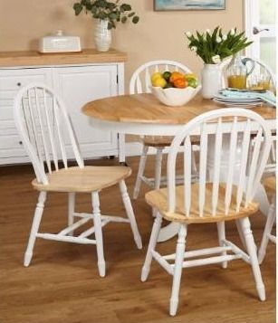 Simple living Carolina Windsor Dining Chairs  Set of 2