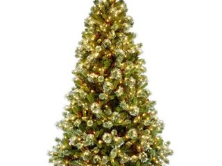 National Tree Company 6 5 ft  Wintry Pine Medium Tree with Clear lights