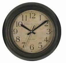 Baldauf Clock Co  12in  Wall Clock