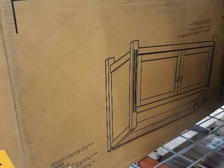Winsome Wood Charleston Storage Bench  Walnut Finish