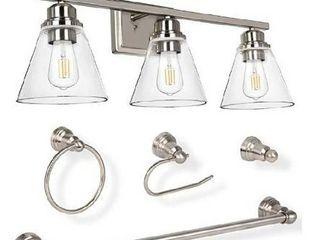 3 light vanity light set bn