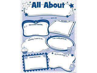 Teacher Created Resources All About Me Poster Pack