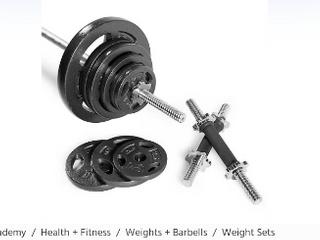 Cap  160lB Regular Free Weights