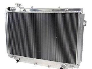 Primecooling 66MM 4 Row Core Aluminum Radiator for Toyota landcruiser 80 Series 1HZ 1HDT HZJ80 HDJ80  lexus lX450 Turbo Diesel 1990 98 MT