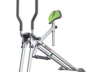 Star Uno Ab Squat Workout Machine   Assist Squat Exercise and Glute Workout to Tone and Firm Muscles  Grey  Model 7827 080 001