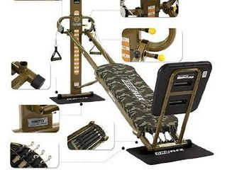 GR8FlEX High Performance Gym   Military Xl Model with Total Over 100 Workout Exercises