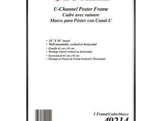lorell Poster Frame  Black  1 Each  Quantity