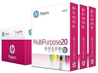 AmazonBasics 92 Bright Multipurpose Copy Paper   8 5 x 11 Inches  10 Ream Case  5 000 Sheets