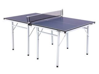 STIGA Space Saver Compact Table Tennis Table for Authentic Play at Regulation Height with a Scaled Down Size for Easy Storage   Not Inspected