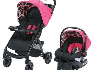 Graco Verb Travel System   Includes Verb Stroller and SnugRide 30 Infant Car Seat  Azalea   Not Inspected