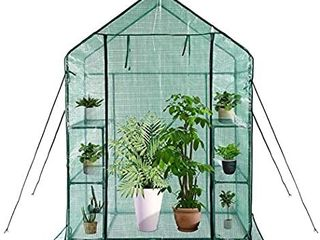 Greenhouse Indoor and Outdoor Greenhouse Window and Anchors Include Grow Plants Seedlings Herbs or Flowers 56 A30 A76