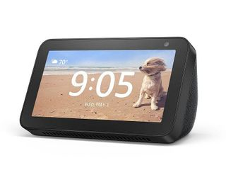 Amazon Echo Show 5 Smart Display with Alexa   Charcoal set of 2