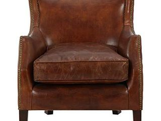 Christopher Knight Home Njord leather Single Sofa  Vintage light Brown