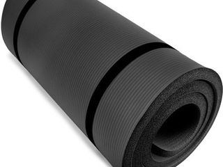 Yoga Cloud   Extra Thick 1  Exercise Mat with Shoulder Sling   25mm Non slip  Moisture Resistant Foam Cushion for Pilates and Working Out   Ultra Balance   Support for Joint Health    Physical Therapy