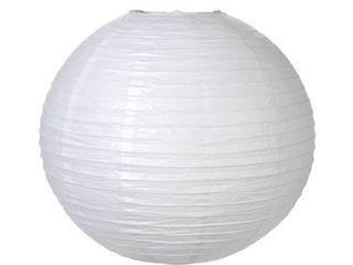 Darice 1174 89 Paper lantern  24 Inch  White