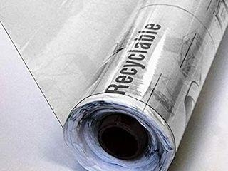 Mybecca Clear Marine Vinyl 30 Yard Roll of 8 Gauge 54 Inches 2 rolls