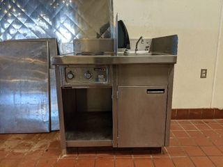 Wells Sink And Hot Burner Duo