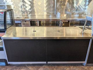 Stainless Steel Counter  Buyer Responsible For Removal