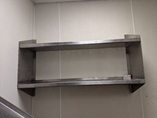 Stainless Steel Shelf  Buyer Responsible For Removal