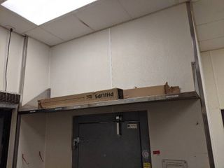 Stainless Steel Shelves  Buyer Responsible For Removal