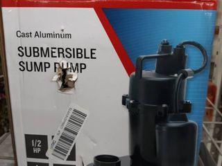 Utilitech Simp Pump Cast Aluminum 0955624 55 Gpm   115 Volts