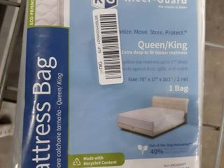 Kleer guard King  Queen Mattress Bags 78  X 14  X 103  Moving Storage