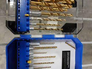 Kobalt Assorted Titanium Twist Drill Bit Set