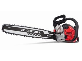 Craftsman 20 in  Gas Powered Chainsaw