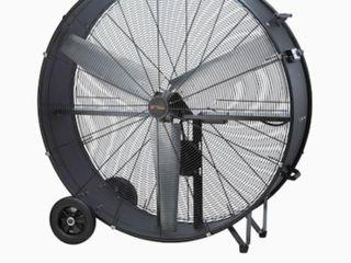 Utilitech 42 in 2 Speed Indoor Black Powder Painting Industrial Fan Retails   350