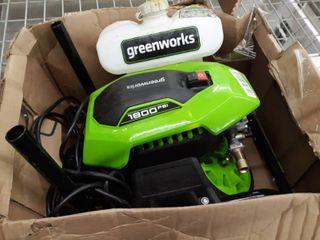Greenworks 1800 PSI Portable Pressure Washer