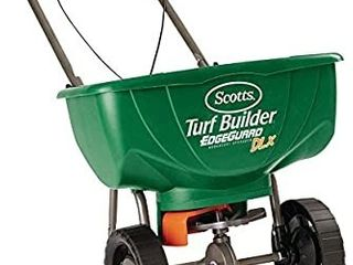 Scotts Turf Builder EdgeGuard DlX Broadcast Spreader