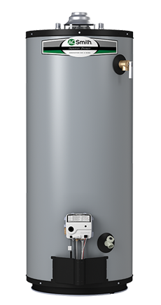 A O  Smith Signature Premier 40 Gallon Short 12 year limited 40000 BTU Natural Gas Water Heater