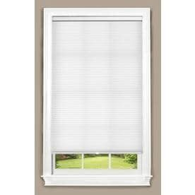 allen   roth White light Filtering Cordless Polyester Cellular Shade  Common  34 in  Actual  34 in x 72 in